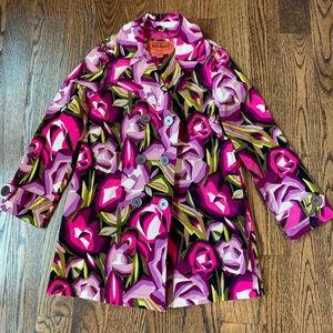 Girls Missoni velvet coat. New with tags.  7-8